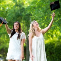 Savannah and Lexie's grad shoot