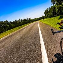 Solo bike ride, HWY319