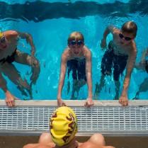 ATAC full-team swim clinic