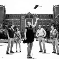 Lindsey H.'s grad shoot