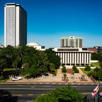 Working on a project for my mother...the Florida Capitol area from the State Attorney's office