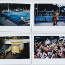 Documenting a summer league swim meet, and a truck getting stuck on FSU Campus