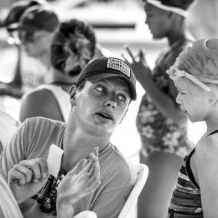 Capturing fellow coaches coaching